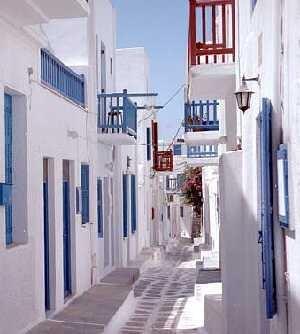 Mykonos, Geece