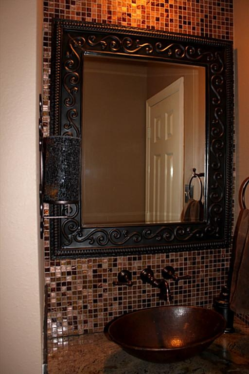 Wall Decor Around Mirror : Best images about indian autumn slate tile on