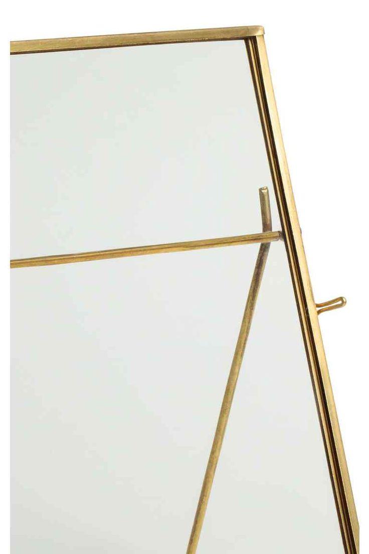Metalowa ramka na zdjęcia - Złoty - HOME   H&M PL