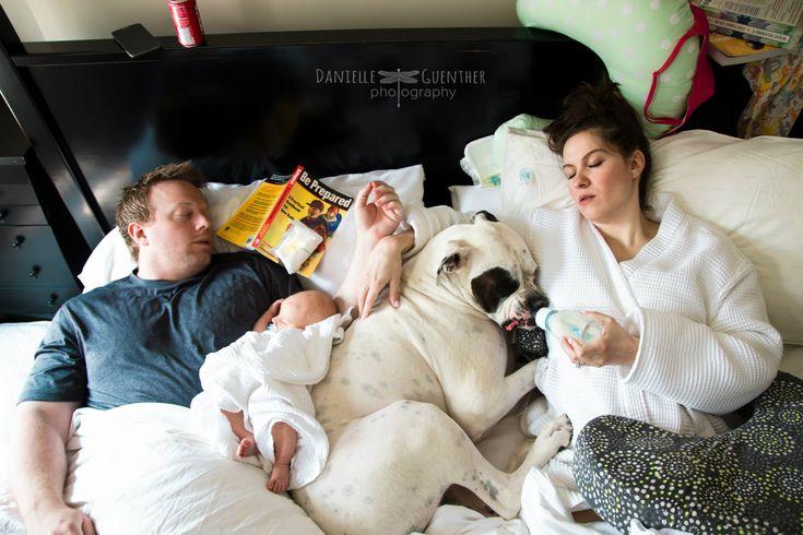 Fotógrafa registra de maneira realista (e divertida) a vida em família