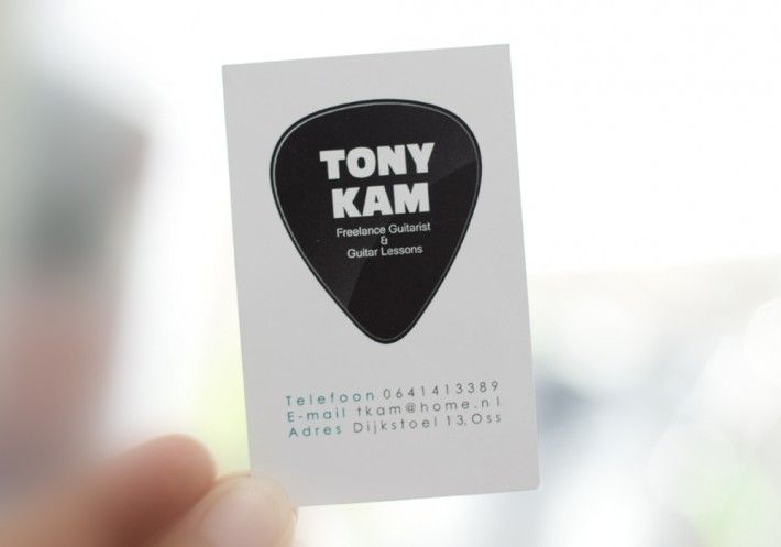"Business card design ""Tony Kam"""