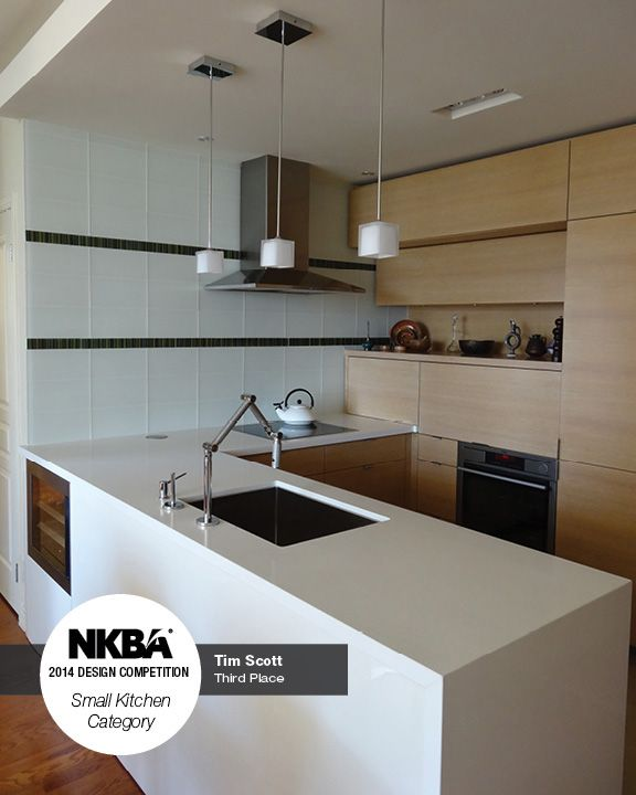 2014 nkba design competition winner small kitchen 3rd place the modern marvel designed - Kitchen Design Competition