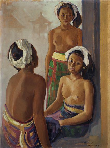 Czeslaw Mystkowski - Gadis-gadis Bali