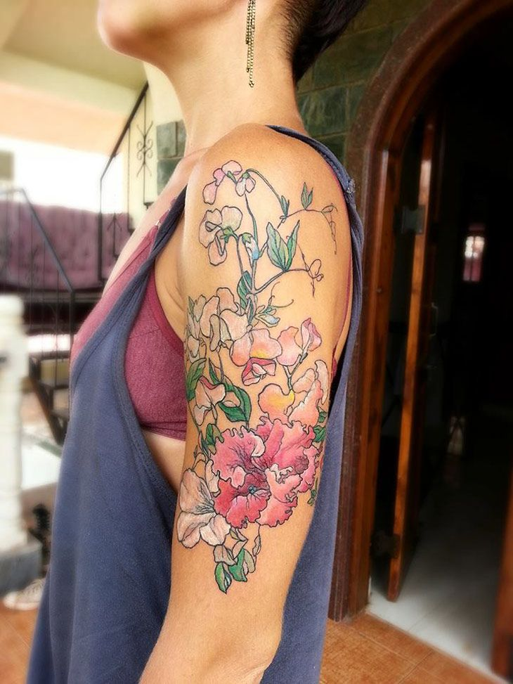 1000 ideas about arm tattoos girls on pinterest arm for Tattoo on forearm pain