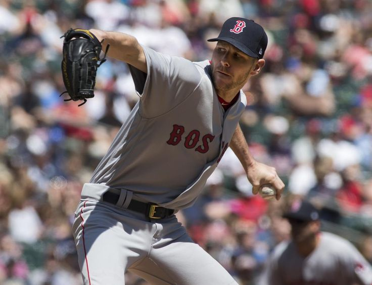 Red Sox starter Chris Sale struck out 10 batters over six innings.