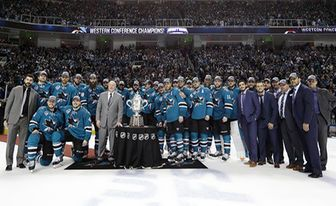 San Jose Sharks Congratulations to San Jose Sharks! 2016 Clarence Campbell Trophy winners and heading to Stanley Cup Final!