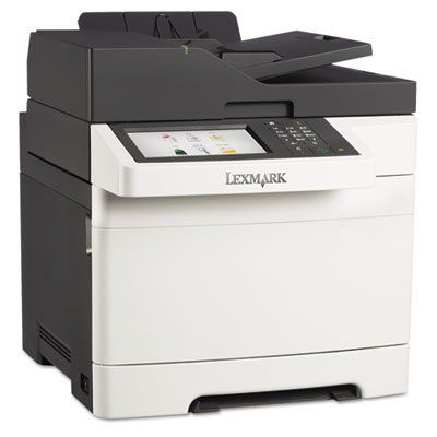 cx510de multifunction color laser printer sold as 2 each network ready multifunction laser