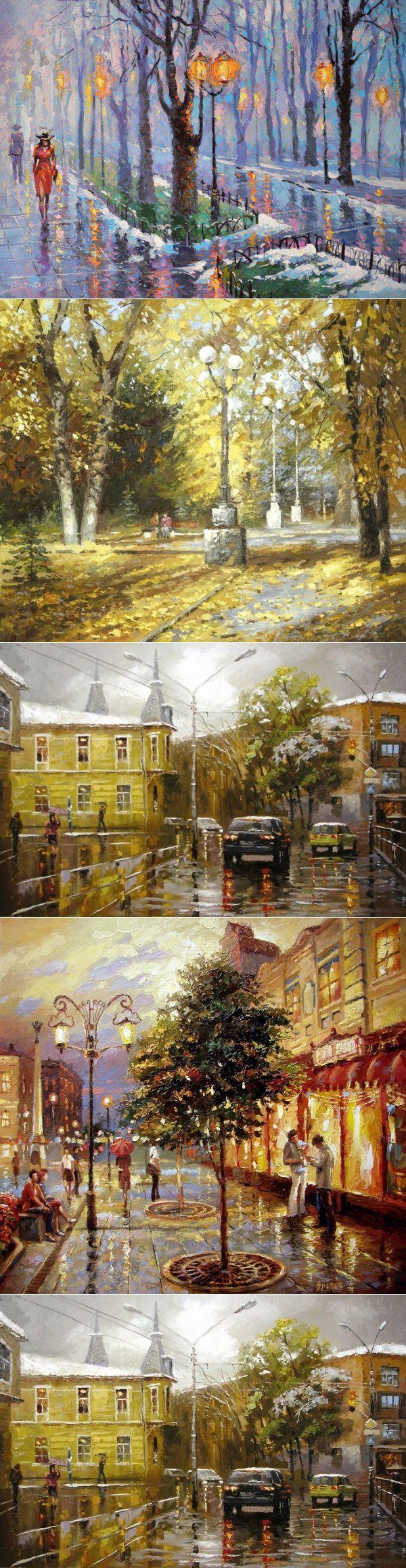 Невозможное возможно ~ Яркий импрессионизм Дмитрия Спироса (Dmitriy Spiros) | искусство | Постила