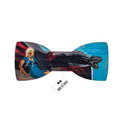 Game of Thrones bow tie - Dragon bowtie painted Bow Tie H... https://www.amazon.com/dp/B01H5QJIF4/ref=cm_sw_r_pi_dp_x_xBGKybQ37W7F2