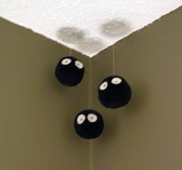 saw this while doing a google search! such a good idea! When I get my own place I shall have soot sprites in every corner of every room :D