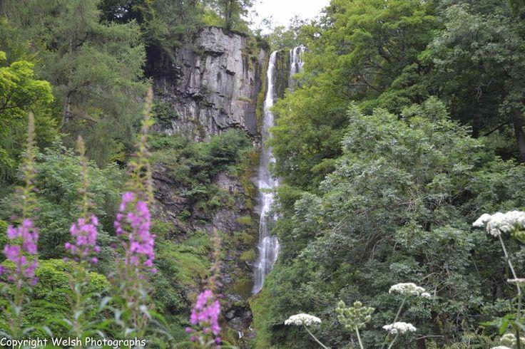 Pistyll Rhaeadr, Llanrhaeadr-ym-Mochnant,Powys,Wales. #waterfall #wales