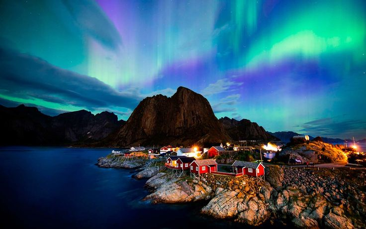 Everything You Need to Know to See the Northern Lights in Norway | This is everything you need to know to get a glimpse of one of nature's coolest attractions, the Northern Lights, in Norway.
