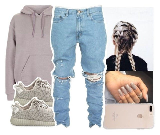 """"" by aribearie ❤ liked on Polyvore featuring Topshop and adidas Originals"
