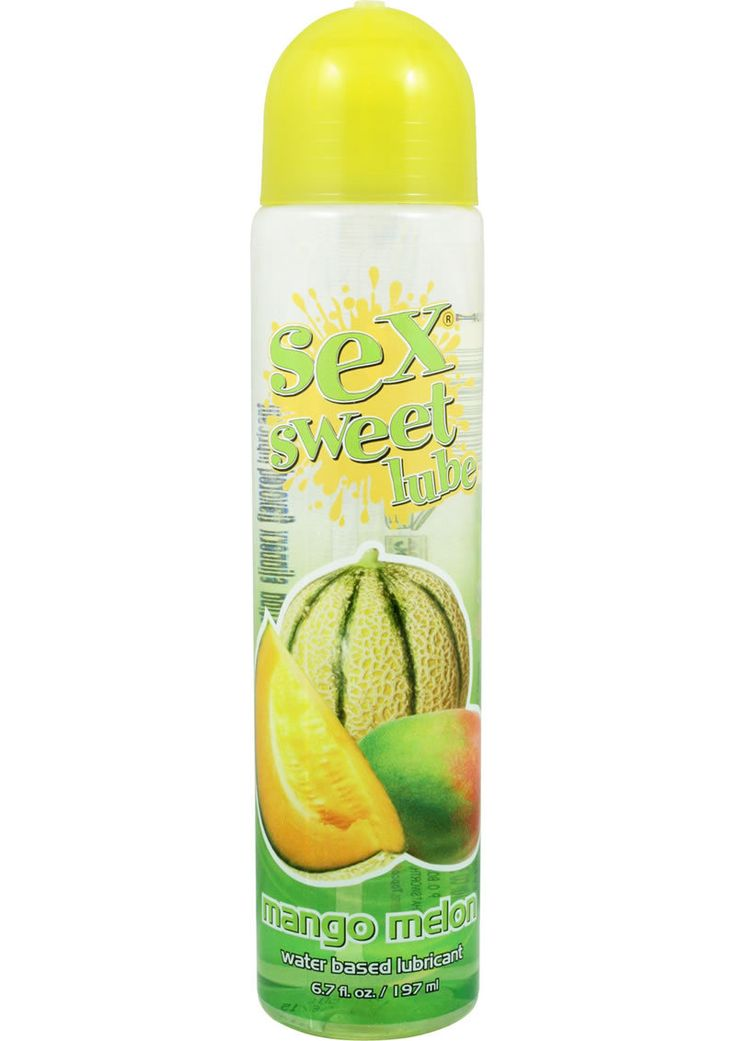 Buy Sex Sweet Lube Flavored Water Based Lubricant Mango Melon 6.7 Ounce online cheap. SALE! $10.99