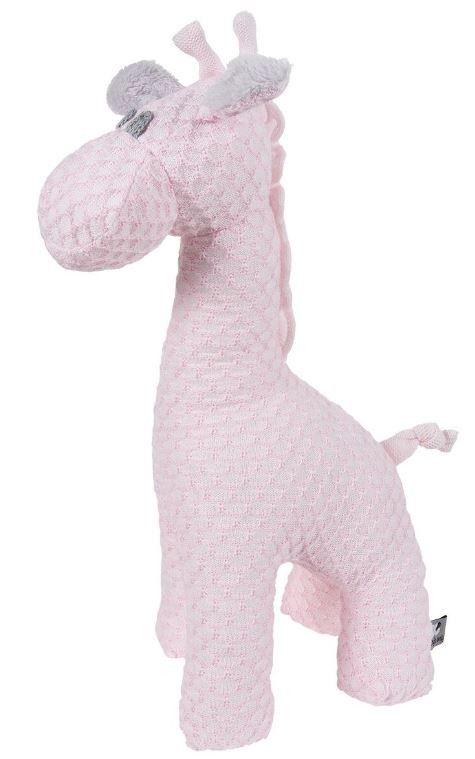 Wie heeft er nou een giraf in huis? Jullie strakjes! Leuke Baby's Only giraf welke gebruikt kan worden als decoratie en welke geknuffeld kan worden. De giraf komt uit de Sun lijn met een honingraad-steek.Uit dezelfde serie zijn onder andere ook knuffeldoekjes en muziekdoosjes verkrijgbaar.