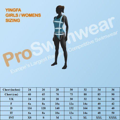 Yingfa 925-1 Shark Scale KneeSkin | 34-38 | ProSwimwear