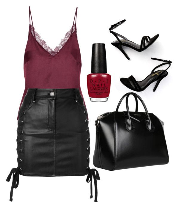 """Untitled #152"" by isagarcia18 on Polyvore featuring Anine Bing, Versus, LULUS and Givenchy"