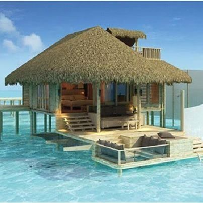 Maldives - I'd love to be there right now....and all the time.