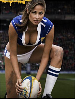 sportsbook girl football log