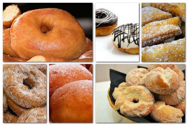 Como hacer rosquillas y donuts para todos los gustos