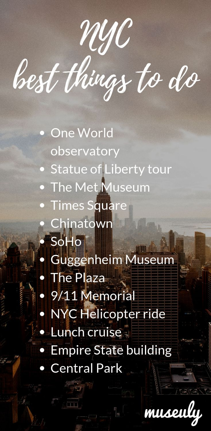 Best things to do in New York! – New York City