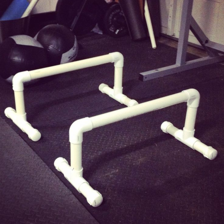 Diy Parallettes Directions And Exercises Fitness