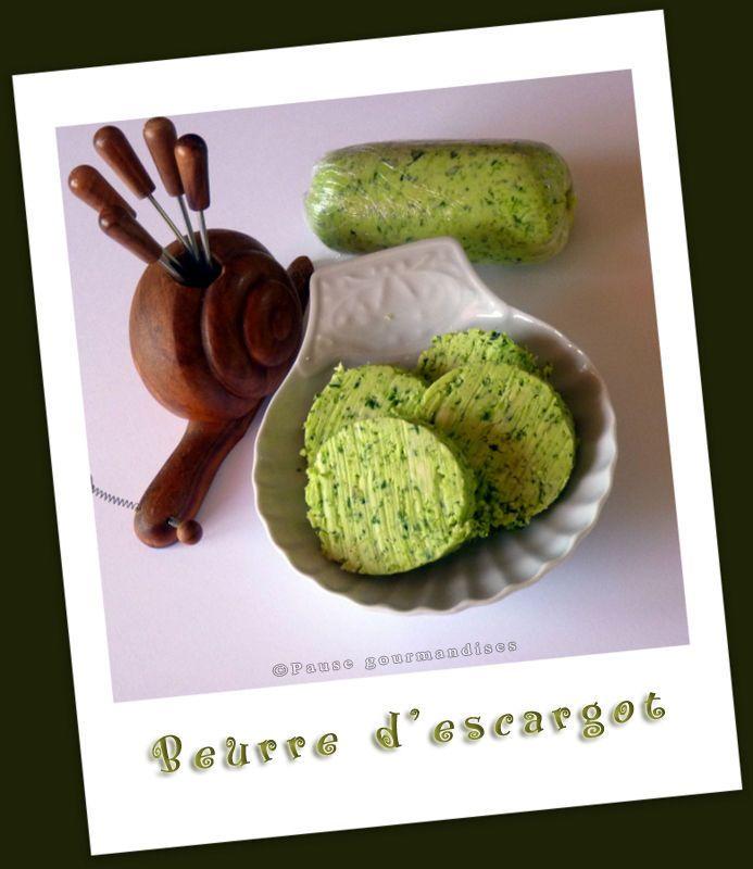 Beurre d'escargot (au robot ou au thermomix)