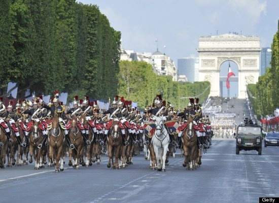 bastille day parade france