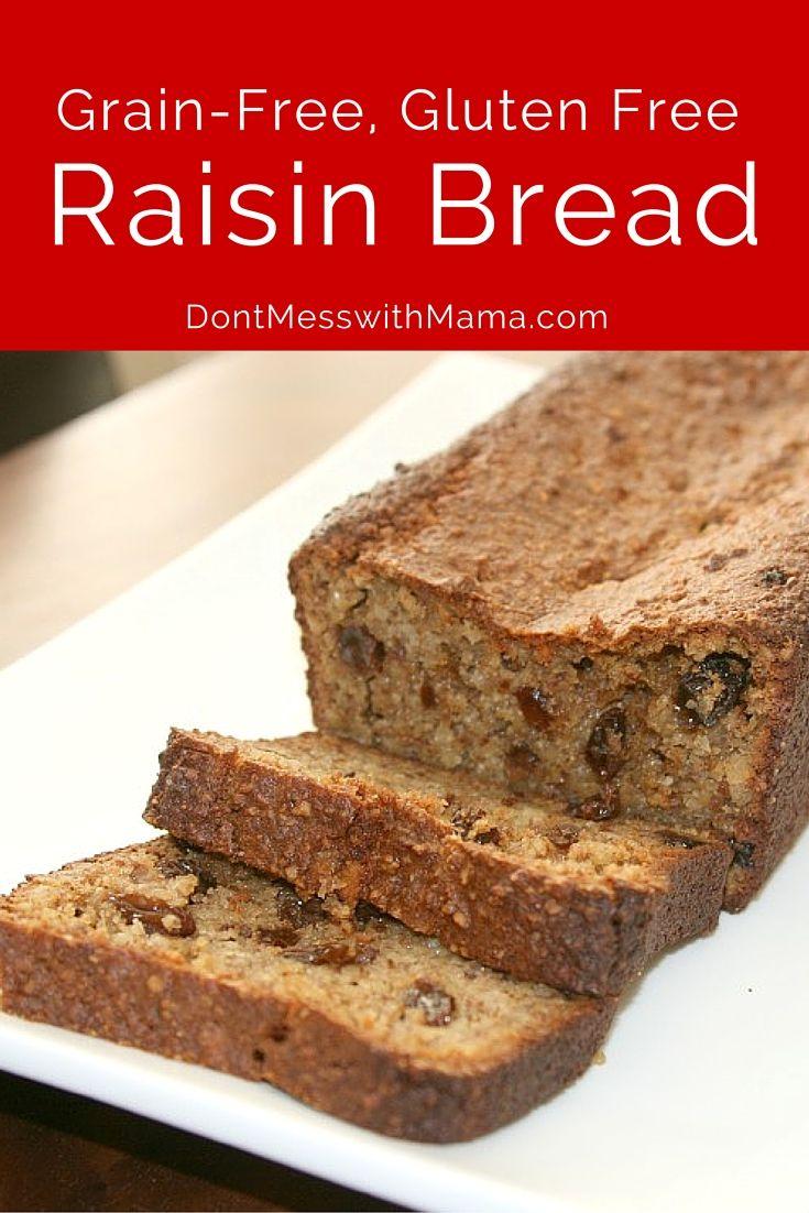 ... Free Cinnamon Raisin Bread | Recipe | Bread recipes, Gluten free and