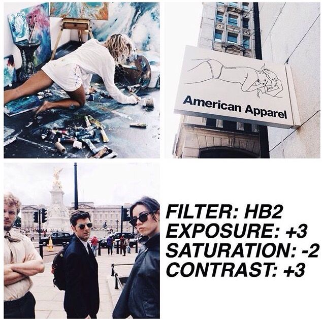 Best Fashion Blogger Filters