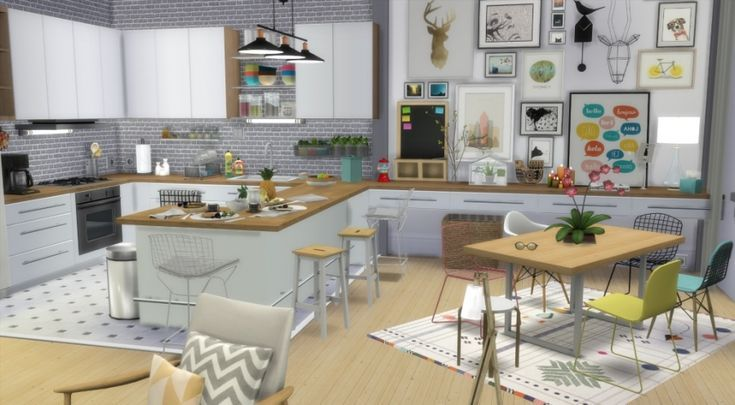 Bromine Office – The Sims 4 Download – SimsDomination