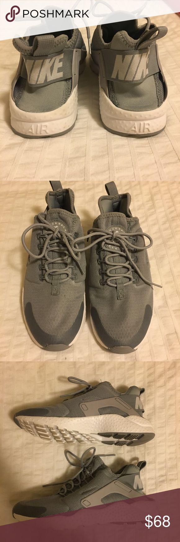 Nike huarache's Grey like new Nike huarache's Grey like new Nike Shoes Sneakers