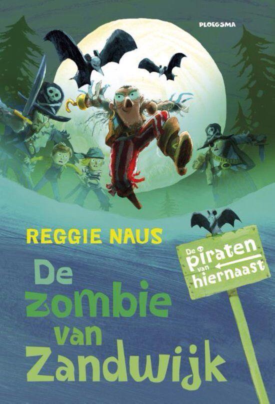 30/52 Zombie van Zandwijk. / Reggie Naus. Kostelijk boek uit de serie van de piraten van hiernaast.
