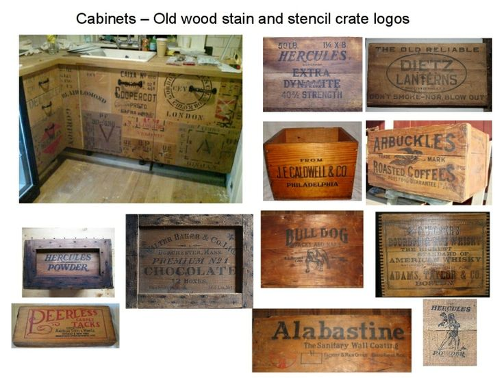 wooden shipping crate furniture | Shipping crates were valuable already milled and smoothed wood, and ...