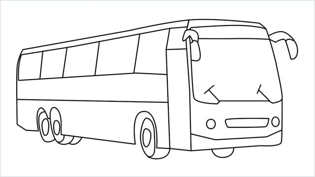 40+ City bus clipart black and white information