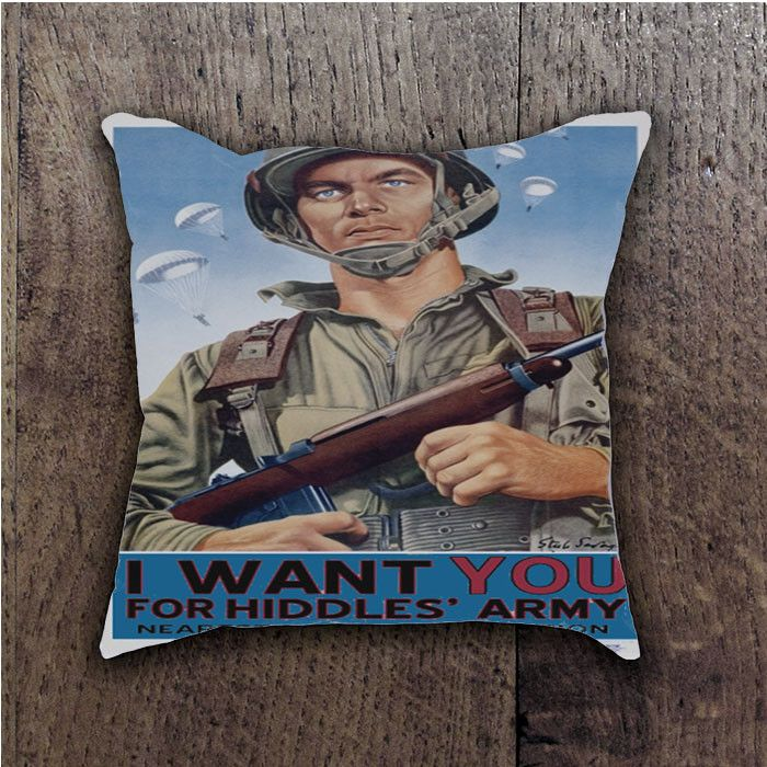 ARMY RECRUITMENT LOKI BATHROOM PILLOWS