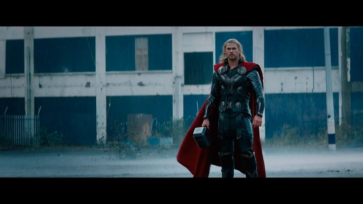 THOR: THE DARK WORLD - THOR ARRIVES TO EARTH (1920X1080 wallpaper)