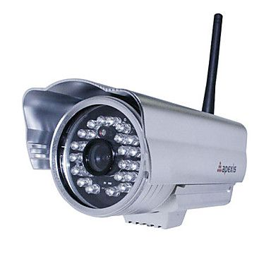 Apexis - Waterproof Wireless IP Camera (Night Vision, Motion Detection, Email Alert) – USD $ 75.99