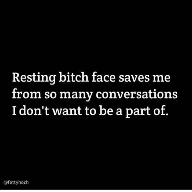 RBF....both a remedy and a curse. Damn.