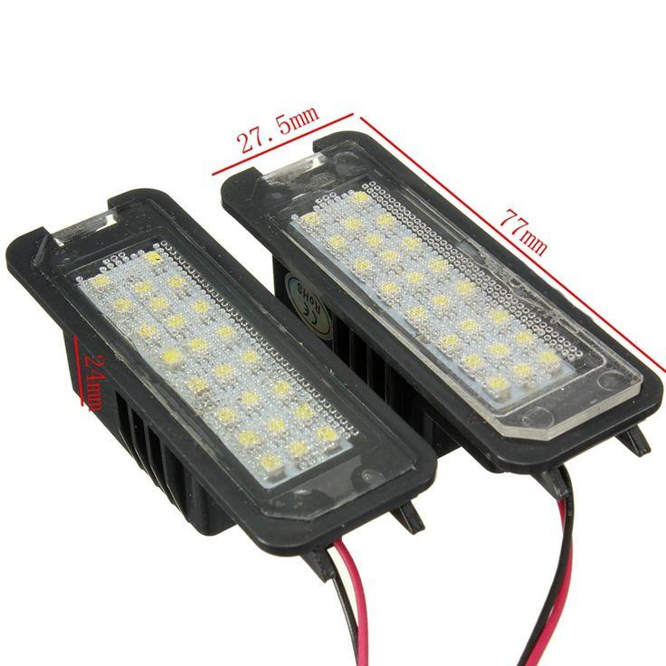 $9.06 (Buy here: https://alitems.com/g/1e8d114494ebda23ff8b16525dc3e8/?i=5&ulp=https%3A%2F%2Fwww.aliexpress.com%2Fitem%2F2Pcs-LED-License-Plate-Light-6000K-24leds-Number-Plate-Light-For-VW-Passat-Golf-GTI-MK5%2F32776795576.html ) 2Pcs LED License Plate Light 6000K 24leds Number Plate Light For VW Passat Golf GTI MK5 MK6 For Volkswagen/Scirocco/Phaeton for just $9.06