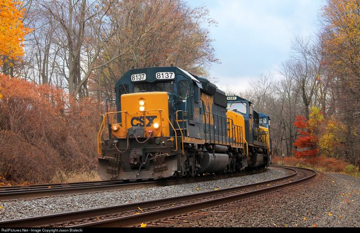 RailPictures.Net Photo: CSXT 8137 CSX Transportation (CSXT) EMD SD40-2 at South Plainfield, New Jersey by Jason Bialecki