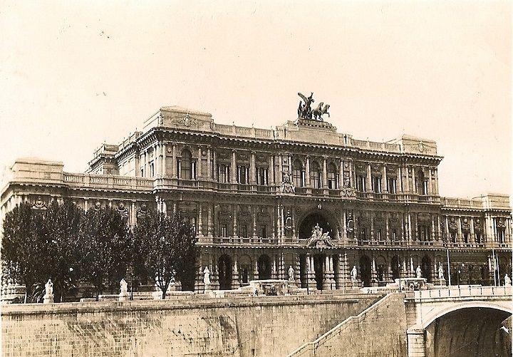 Palazzo di Giustizia Anno: ante 1932