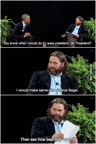 Between Two Ferns with Zach Galifianakis: President Barack Obama Like, Repin, Comment if you like ;)
