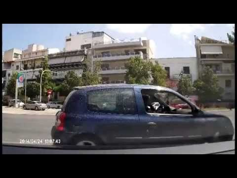 Crazy Greek drivers  2014 NEW how they made this!!!!!