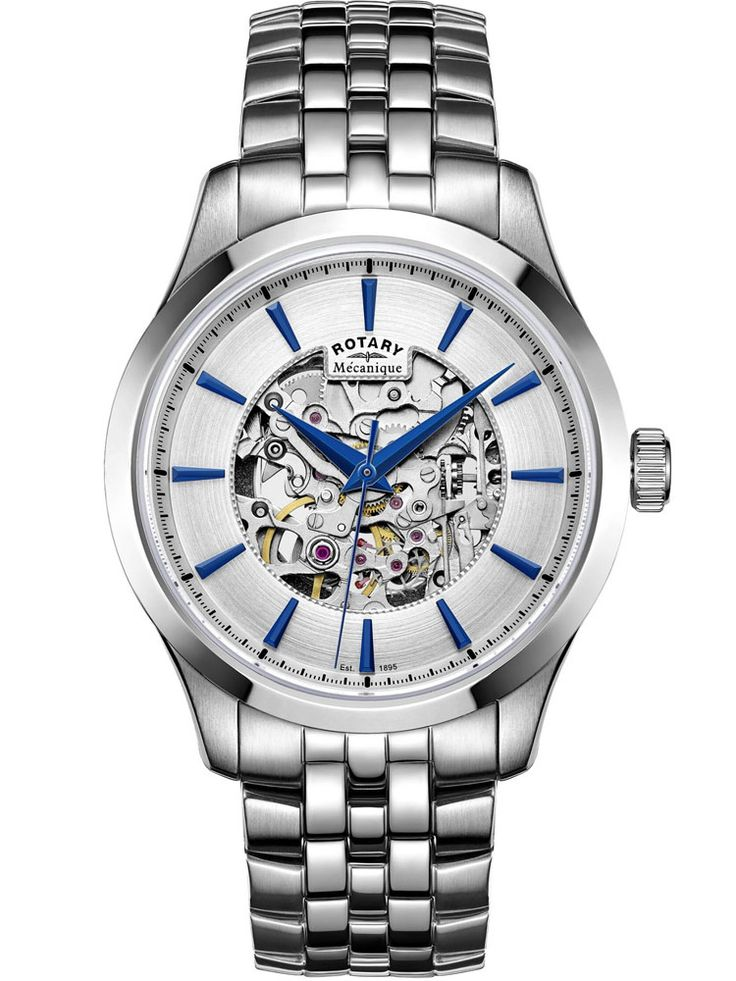 Rotary Mens Mecanique Skeleton Watch GB05032/06