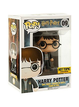 Funko Harry Potter Pop! Harry Potter With Sword Of Gryffindor Vinyl Figure Hot Topic Exclusive,