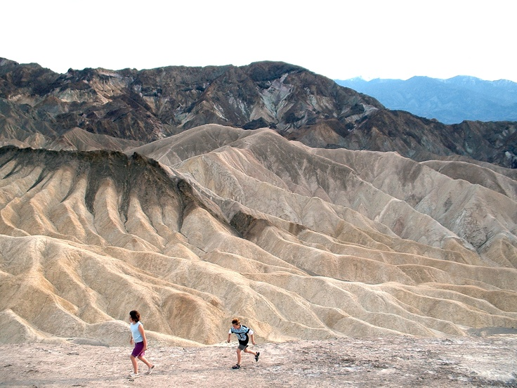 Somewhere on the Death Valley