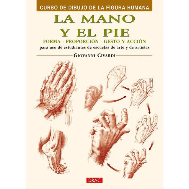 La Mano Y El Pie Dibujos Figura Humana Libros De Dibujo Pdf Libro De Dibujo