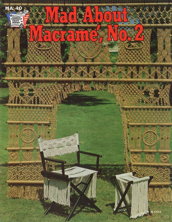 Macramé Madnesss  1970s Macrame Learning Knots  How To