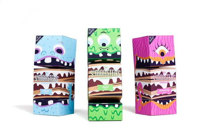 s'monsters smores packages